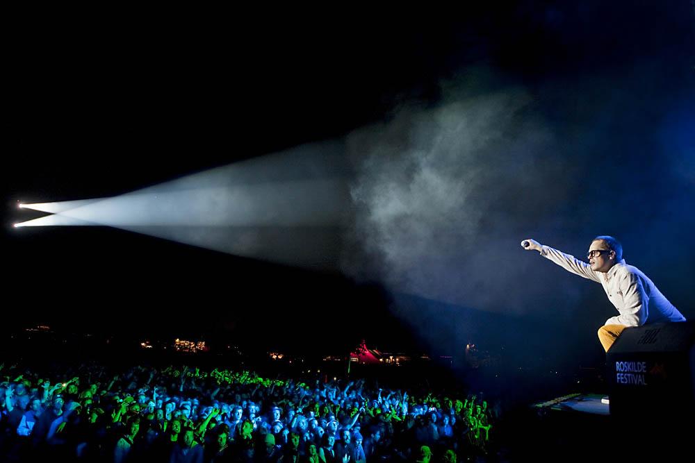 Malk de Koijn lukker Orange Scene fredag aften - Roskilde Festival 2012