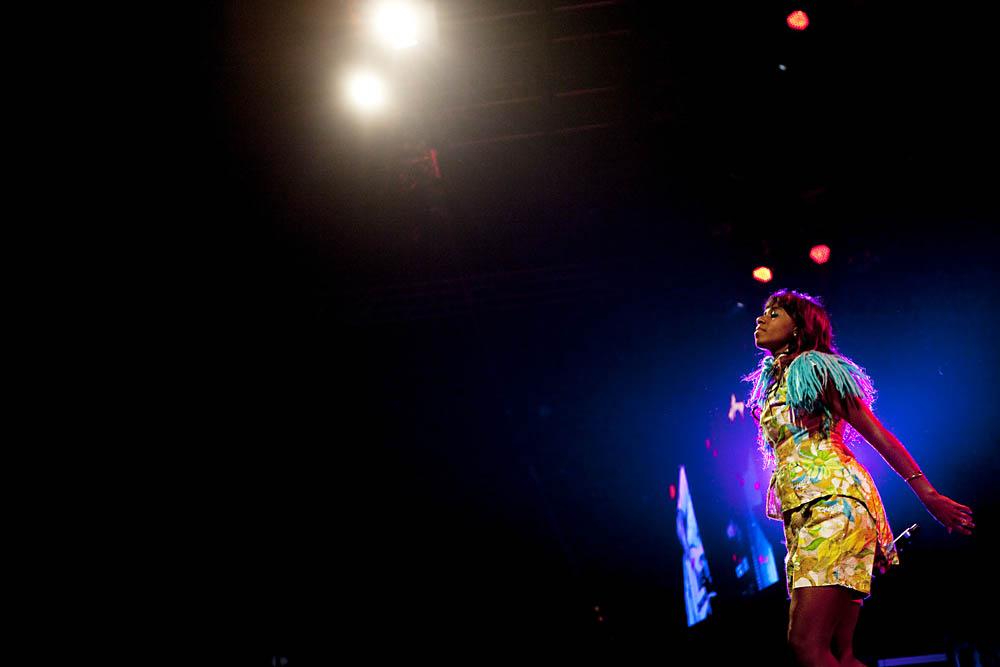 Santigold pŒ Arena - s¿ndag aften - Roskilde Festival 2012