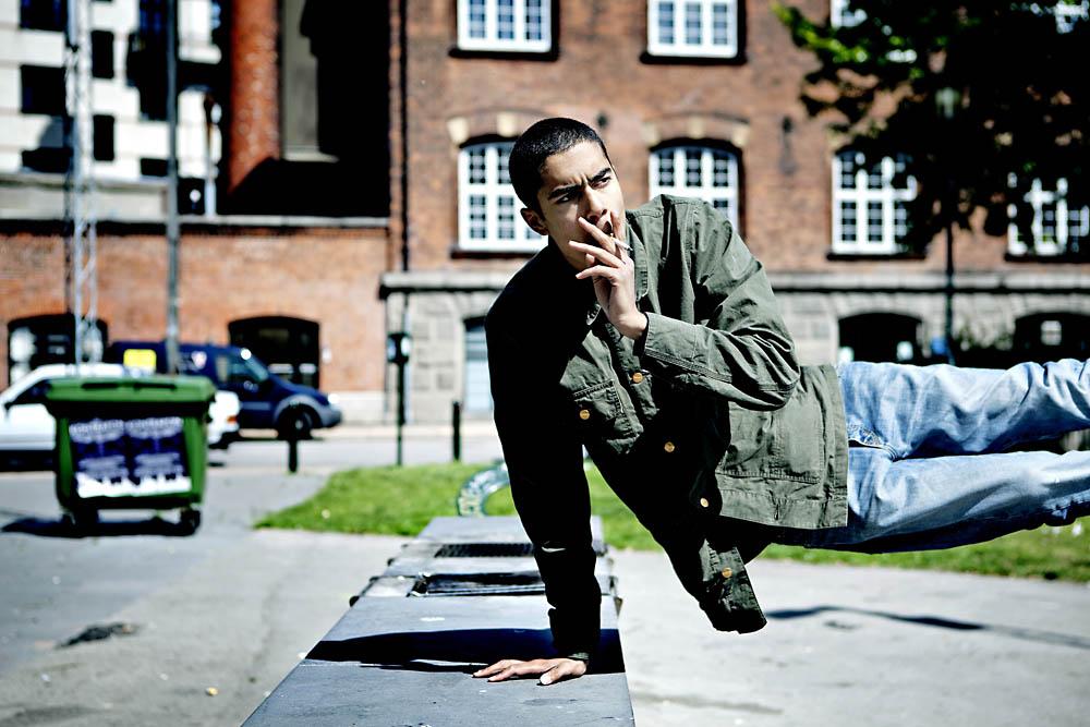 Den danske rapper Oliver Kesi